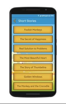 Best English Short Stories screenshot 3