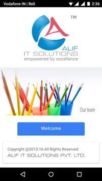 ALIF IT SOLUTIONS poster