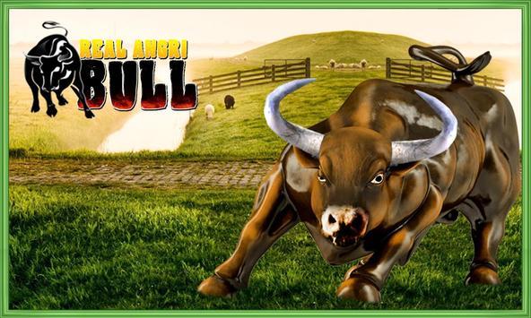 Real Angri Bull poster