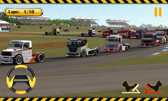 Real Truck Race apk screenshot