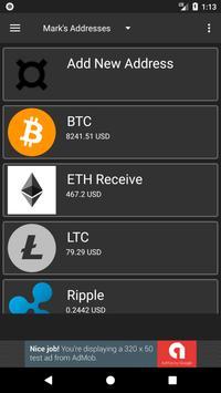 Crypto Contacts screenshot 1
