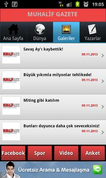 Muhalif Gazete apk screenshot