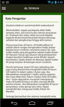 al-isyrun 20 Hadis Pilihan screenshot 3