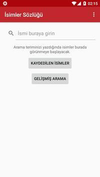 İsimler Sözlüğü poster