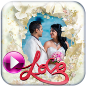 Wedding Photo Video Maker with Music icon