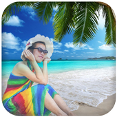 Beach Photo Frames Collage icon