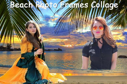 Beach Photo Frames Collage screenshot 1
