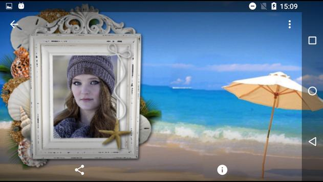 Beach Photo Frames Collage screenshot 2