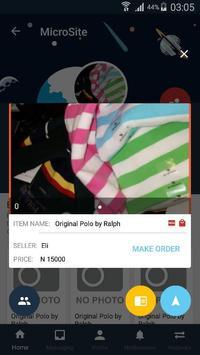 Space Barter-Social Mobile Marketplace screenshot 1