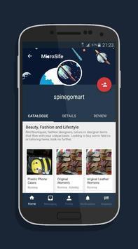 Space Barter-Social Mobile Marketplace screenshot 2
