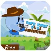 Super Kirdy blue Adventur icon