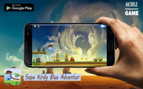 Super Kirdy blue Adventur apk screenshot