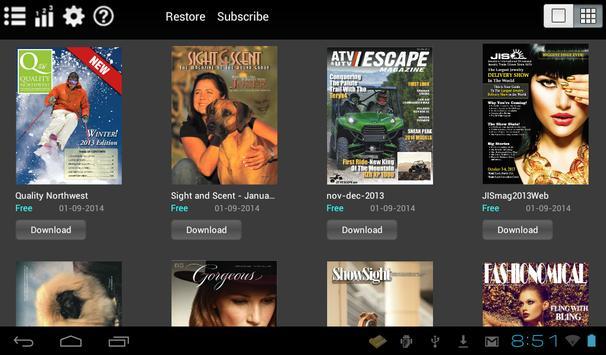 iPubMag apk screenshot