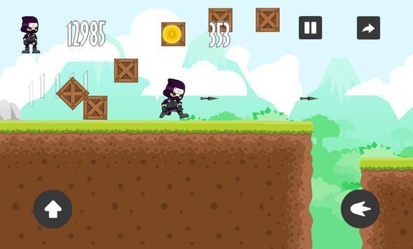 Ninja Run - Shoot and Run apk screenshot