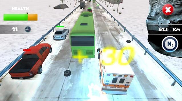 Traffic Race : Crash poster