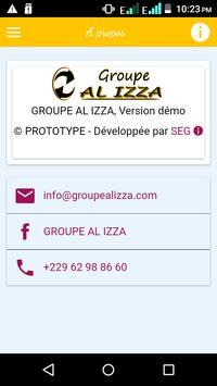 AL IZZA GROUPE DEMO poster