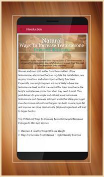 Increase Testosterone And Decrease Estrogen for Android - APK Download