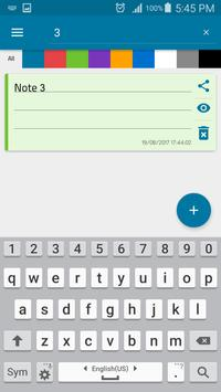 Notes screenshot 2