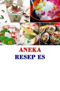 Aneka Resep Es poster