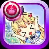Cartoon Princess Jumping Games icon