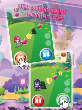 Jump & Running Little Girls apk screenshot