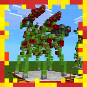 New Slime Block Robots Redstone MCPE map icon