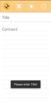 Notes App apk screenshot