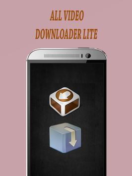 All Video Downloader Lite apk screenshot