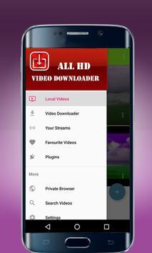 All HD Video Downloader HD Videos apk screenshot