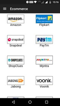 All in one shopping app India screenshot 1