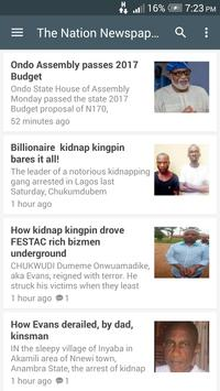 Nigeria Newspapers screenshot 2