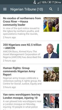 Nigeria Newspapers screenshot 3