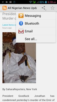 Nigeria Top Headline News apk screenshot