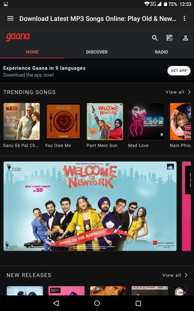 Free music&Songs download saavn gaana music artist for