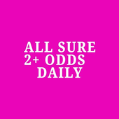 ALL SURE 2+ ODDS SOCCER TIPS icon