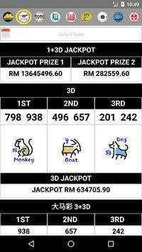 ALL4D LIVE Results (MY & SG) Perdana, Lucky Hari screenshot 1