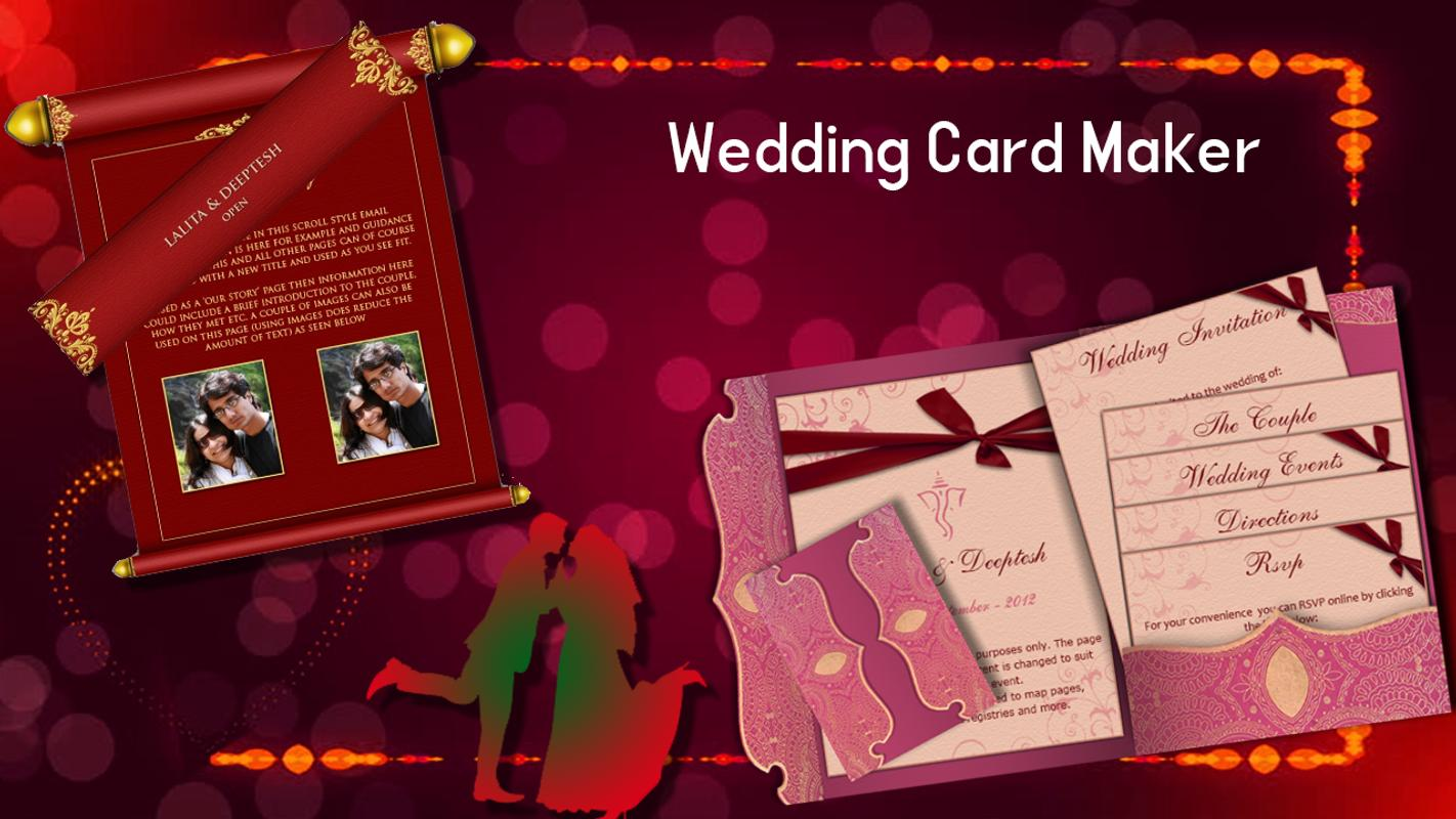 Multi Card Maker - Wedding, Birthday & visiting for Android - APK ...