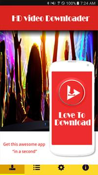 New Pro HD Video Downloader apk screenshot