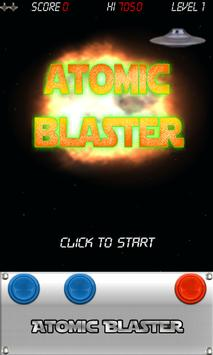 Atomic Blaster Invaders poster
