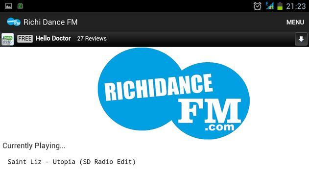 Richi Dance FM screenshot 1