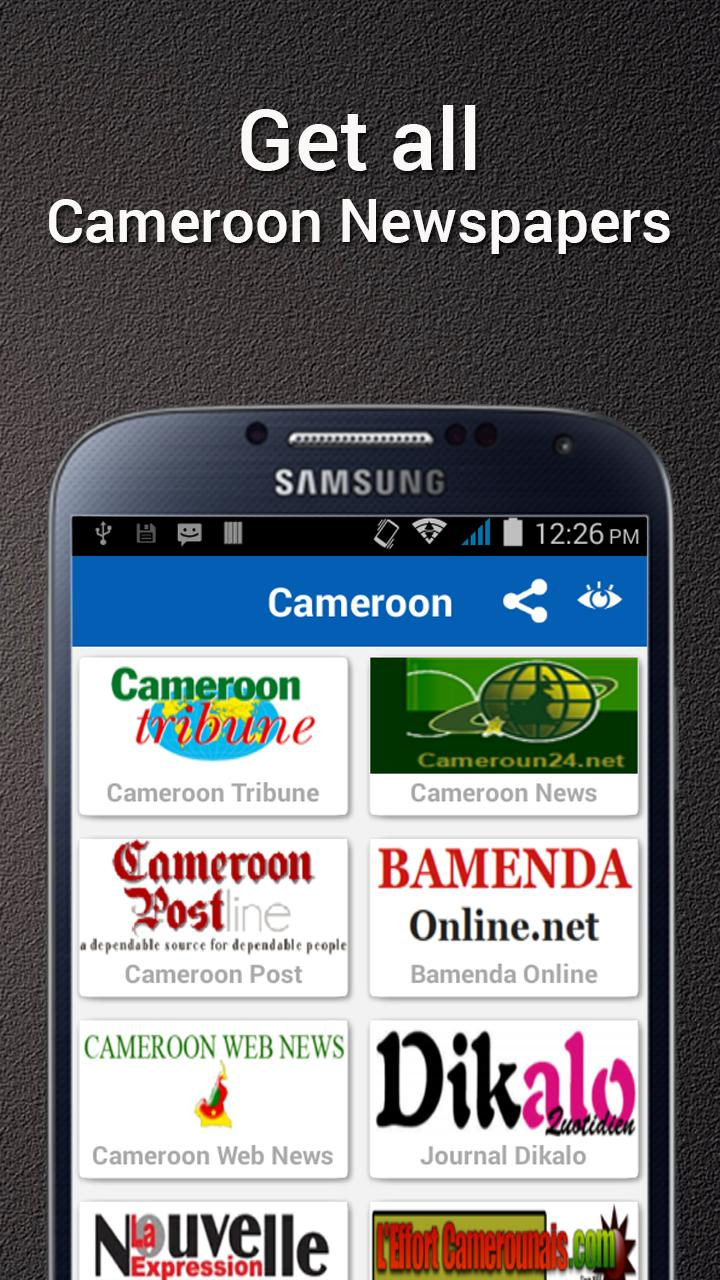 Cameroon News For Android Apk Download