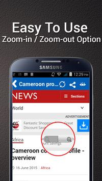 Cameroon News - All NewsPapers apk screenshot