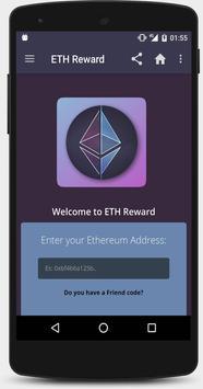 ETH AW Reward - Earn free Ethereum poster