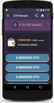 ETH AW Reward - Earn free Ethereum screenshot 1