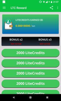 LTC AW Reward - Earn free Litecoin screenshot 1