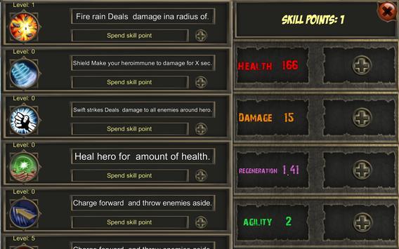 Legend of the Hero apk screenshot
