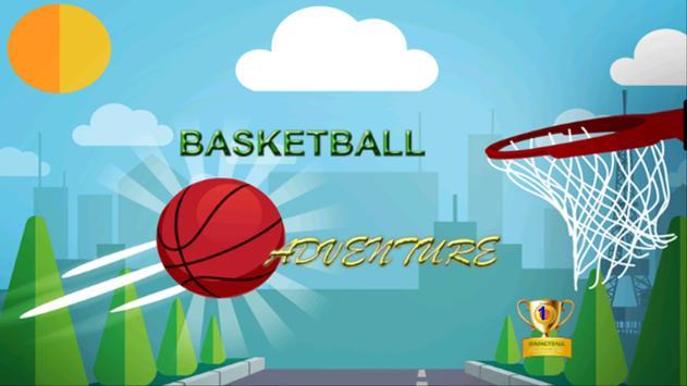 Basketball Adventure Game poster