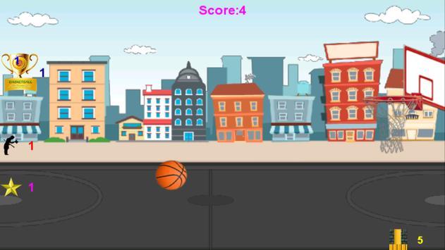 Basketball Adventure Game apk screenshot