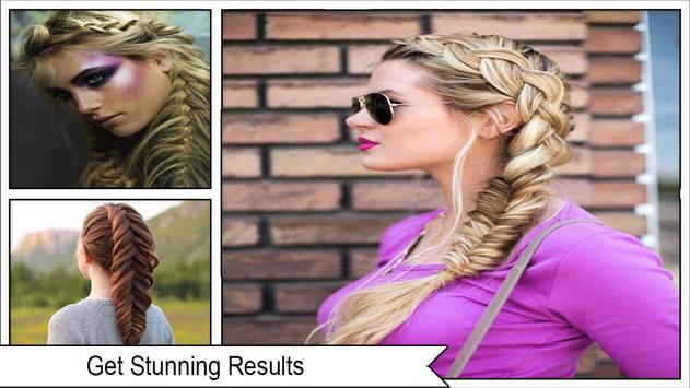 Beauty Fishtail Braid Hairstyles screenshot 3