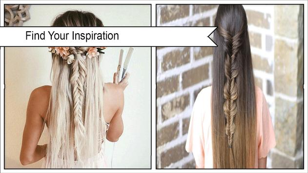 Beauty Fishtail Braid Hairstyles poster